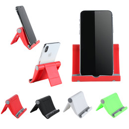 Angle holder online shopping - 1 Universal Adjustable Foldable Table cell phone support desktop stand for xiaomi Multi angle Mini Phone holder