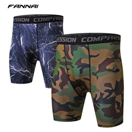 $enCountryForm.capitalKeyWord NZ - 2018 Summer Men's Compression Shorts Camouflage Crossfit Bermuda fitness Running Gym Tights Quick Dry Sportswear Camo Shorts men