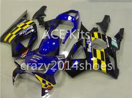 $enCountryForm.capitalKeyWord Australia - Motorcycle Fairing kit for HONDA CBR900RR 954 02 03 CBR 900RR 2002 2003 CBR900 ABS hot Black Blue Fairings set+3gifts H5
