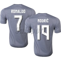 f47d065ef 2015 16 Real Madrid Away Soccer Jerseys Ronaldo Isco Modric Futbol Camisa  Football Camiseta Shirt Kit Maillot