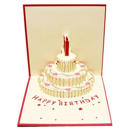 Birthday Card Cake Gifts UK
