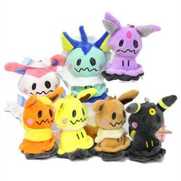 Wholesale style video game online – design Top New Styles quot CM Sylveon Eevee Umbreon Flareon Vaporeon Jolteon Espeon Cosplay Mimikyu Plush Doll Anime Stuffed Pendants Soft Toys