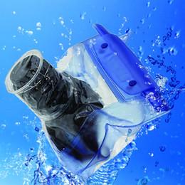 $enCountryForm.capitalKeyWord NZ - Waterproof DSLR SLR Underwater Storage Housing Case Pouch Transparent PVC Camera Dry Bag for Most DSLR Camera