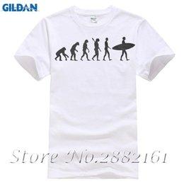 Surfinger Evolução Surfer Mundial Engraçado WSL T-shirt Dos Homens T-Shirt Dos Homens de Roupas Plus Size venda por atacado
