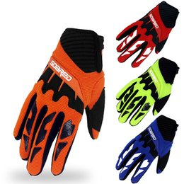 Road Bicycle Gloves Australia - 3-12 Years Old Kids Full Finger Cycling Gloves Skate Sports Riding Road Mountain Bike Gloves for Boys and Girls Bicycle Accessories