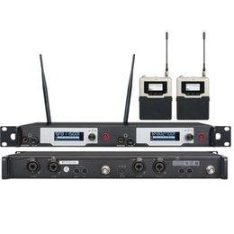 Wholesale UKINGMEI UK Stage in ear monitoring system Professional monitors wireless in ear monitor system dual transmitter receiver