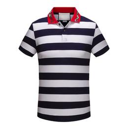 T shirT painTing designs online shopping - Spring Summer polo shirt fashion Short Sleeved polo t shirts men tee design printing poloshirt clothes polos tops XL