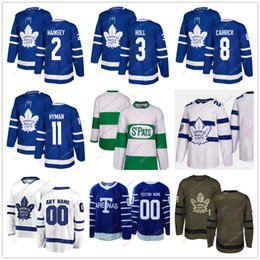 Ron Hainsey Justin Holl Connor Carrick Zach Hyman Jersey 2019 Winter  Classic Toronto Maple Leafs Home Away New Third Women Youth Salute to S  maple winter ... 2f4c0e003