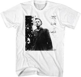 $enCountryForm.capitalKeyWord NZ - Halloween Michael Myers He's Watching You Adult T Shirt Great Classic Movie Top Quality Cotton Casual Men T Shirts Men Free Shipping