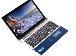 Chinese  brand new notebook laptop 15.6 inch LDE screen Intell I7 dual core cpu processor 4gb ram and 500gb hdd manufacturers