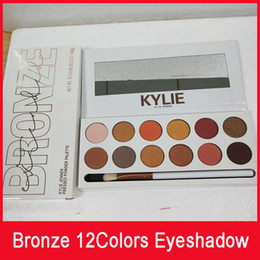 bronze makeup palette 2019 - Factory Direct DHL Free Shipping New Makeup Eyes Bronze Nice Pressed Powder Eyeshadow Palette 12 Colors Eye Shadow!12 x