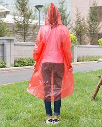 $enCountryForm.capitalKeyWord Australia - 200pcs 3 Wire Thickness Solid Raincoat Disposable PE Raincoats Poncho Rainwear Tour Camping Travel Rain Coat ZA0888