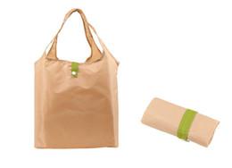 $enCountryForm.capitalKeyWord Canada - Super light weight folding shopping bag twill nylon reusable shop carrying, leisure tote bag 20kg maximum bearable