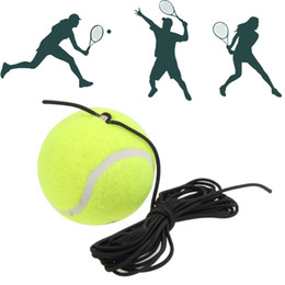 Wholesale WK-04 Single Package Drill Tennis Trainer Tennis Tool with String Replacement High Quality Rubber Woolen Training Tennis Accessories