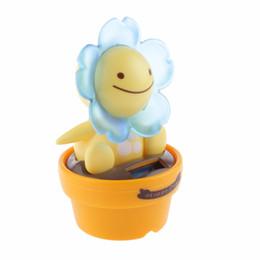 2b20dacab78fbf 2018 New Hot Solar Powered Dancing Flip Flap Car Home Desk Car Dancer  Bobble Toy Flower Classic Solar Creative Birthday toy Gift