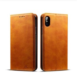 Case Cover purse Card wallet online shopping - Leather Wallet Case For IPhone Plus X Money Purse Case For Samsung S9 S9 Case Cover