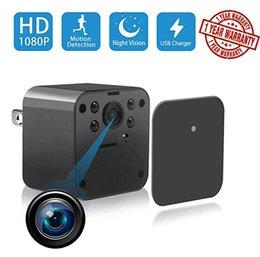 Venda de fábrica WiFi Noite IR Versão Adaptador AC HD 1080 P Mini Câmera USB Carregador de Telefone Câmera de Parede Carregador de Vídeo Gravador S5 Mini DV