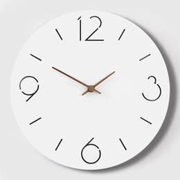$enCountryForm.capitalKeyWord Canada - Large 3d Acrylic Modern Wall Watch Quartz Silent Kids Nordic Home Meet Kitchen Wall Clock Modern Design Saat Oclock 50B0041