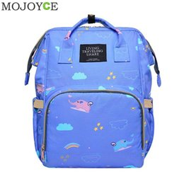 Women Diapers NZ - Waterproof Mommy Diaper Bag 2018 New Fashion Female Backpack Large Capacity Baby Nappy Nursing Bags Travel Rucksack for Women