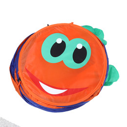 indoor toys baby UK - Baby Crawl Tunnel Indoor Outdoor Kids Play Tent Children's Tent Animal Caterpillar Crawling Baby Tunnel Toys Random Color