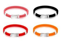 Silicone Ion Sports UK - Negative Ion Bracelet Anti-Static Silicon Sports Bracelet
