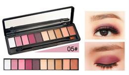 Orange Glitter Australia - Eyeshadow Palette 10 Color Charming Matte Shimmer Pigmented Long lasting Easy to Wear Glitter Eye Shadow Makeup Pallete