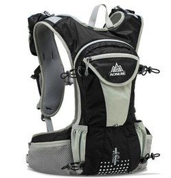 NyloN water bladder online shopping - AONIJIE L Large Sport Backpack Outdoor Lightweight Hydration Vest Harness Water Bladder Hiking Camping Running Marathon Race