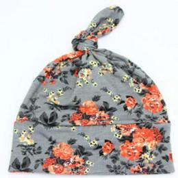$enCountryForm.capitalKeyWord NZ - Hot Selling 2018 New Fashion Boys Sleep Hat Bo Floral Cap Cotton Cap One Piece Retail