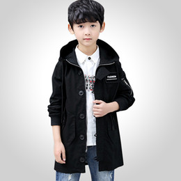 spring jackets for boys NZ - Children Jacket For Boys Coat Kids Clothes Spring Autumn Children's Jackets Teenage Boy Clothing Casual Outerwear