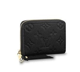 Chinese  ZIPPY COIN PURSE M60574 2018 NEW WOMEN FASHION SHOWS EXOTIC LEATHER BAGS ICONIC BAGS CLUTCHES EVENING CHAIN WALLETS PURSE manufacturers