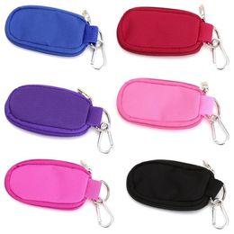 Lock key storage online shopping - 10 Lattice Storage Bag Carry Portable Key Travel Organizer Zip Lock Essential Oil Bottle Bags Convenient Bardian dp bb