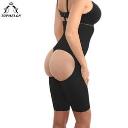 f0aba45e9cb88 wholesale Underwear Women Control Pants Butt Lifter Slim Shapwear Waist  Trainer Open Butt Steel Bone Buttocks High Waist Panties