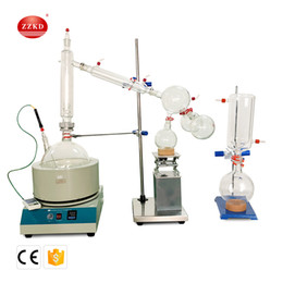 $enCountryForm.capitalKeyWord NZ - Fast Shipping ZZKD 10L Lab Supplies Suitable for Enrichment Crystallization Drying Separation Short essential oil distillation equipment