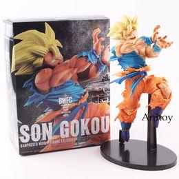 $enCountryForm.capitalKeyWord NZ - Cheap Action & Toy s Dragon Ball Figure Super Saiyan Son Goku BWFC BANPRESTO WORLD PVC Action Figure Collectible Model Toy