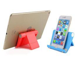 $enCountryForm.capitalKeyWord Australia - New Colorful Portable Adjust Angle Phone Tablet Holder 270 Adjustable Mini Desk Stand Anti Slide Silicone Rubber for iPhone iPad Samsung
