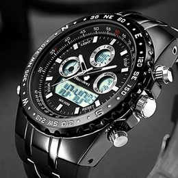 $enCountryForm.capitalKeyWord NZ - Readeel Top Brand Sport Quartz Wrist Watch Men Waterproof Watches LED Digital Watches Men Quartz Wristwatch Clock Male