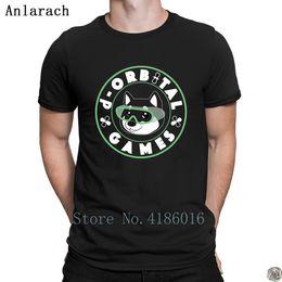 White Shirts Styles Designs For Men Australia - d-orbital games alternative logo t-shirt 2018 HipHop Top New Style round Neck t shirt for men Design homme Novelty hilarious