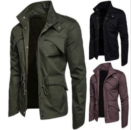 fe8b26e0d9a5 Mens designer coats and jackets online shopping - Mens Designer Jacket  Solid Color Casual Coat Male