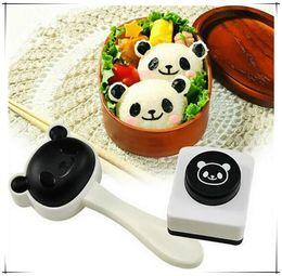 $enCountryForm.capitalKeyWord NZ - Hot sale ! 2017 new creative super cute panda rice ball mould sushi DIY suit   creative kitchen tools