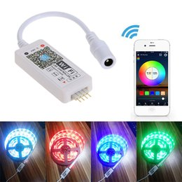 $enCountryForm.capitalKeyWord NZ - Wifi LED RGB Controller Mini Wireless APP Remote Dimmer For Android IOS Mobile Phone for RGB Flexible Led Strip Light