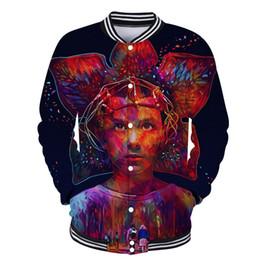 $enCountryForm.capitalKeyWord Canada - Stranger Things Fans Clothes Women Men Baseball Coat Single Breasted Suit Autumn Winter Jackets 3D Print