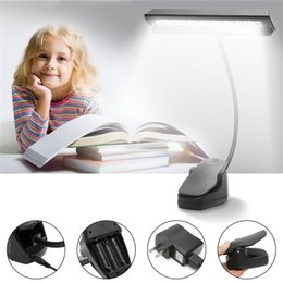 Music book stand online shopping - Portable Flexible Bendable LEDs Orchestra Piano Music Score Light Stand Clip Desk Reading Lamp Bright Clamp LED Desk Book Reading Lamp