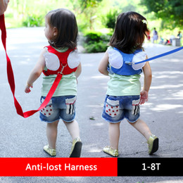 $enCountryForm.capitalKeyWord NZ - Lovely Anti-lost Harness Leash Backpack For Children Angel Design Toddler Walking Assistant Strap Rein Baby Safety Kids Keeper 4 Colors