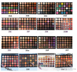 Hot Makeup 35 Colors eyeshadow palette eyeshadow palettes 12 style DHL Free Shipping from lorac makeup brushes suppliers