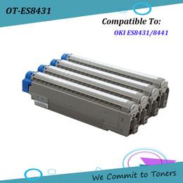 China OKI ES8431 , Compatible Toner Cartridge for OKI ES8431 ES8441 , OKI 44844513 - 44844516 ; BK C M Y - 10,000 pages suppliers