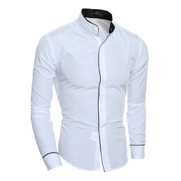 Stand Collar Shirts Designs : Discount standing collar shirt designs standing collar shirt