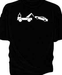 Probe Car UK - Classic car Breakdown humour t-shirt. Ford Probe