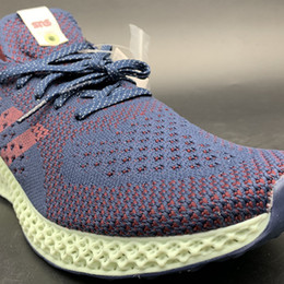 Futurecraft Alphaedge 4D LTD Aero Ash Print Blue B96533 Kicks Men Running  Sports Shoes Sneakers Trainers With Original Box 4bead38ee