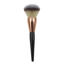 $enCountryForm.capitalKeyWord Australia - Fashion 1 pc Face Makeup Brush Large Blusher Powder Brushes Black Handle With Piano Paint Process PRO Makeup Tool