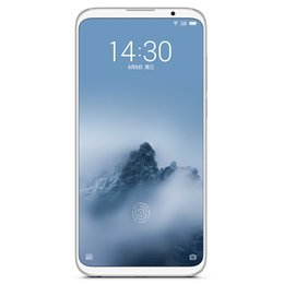 """Wholesale Original Meizu 16 Plus 8GB RAM 128GB 256GB ROM 4G LTE Mobile Phone Snapdragon 845 Octa Core Android 6.5"""" Full Screen 20MP Face ID Cell Phone"""